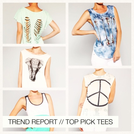 TREND REPORT // TOP PICK TEES