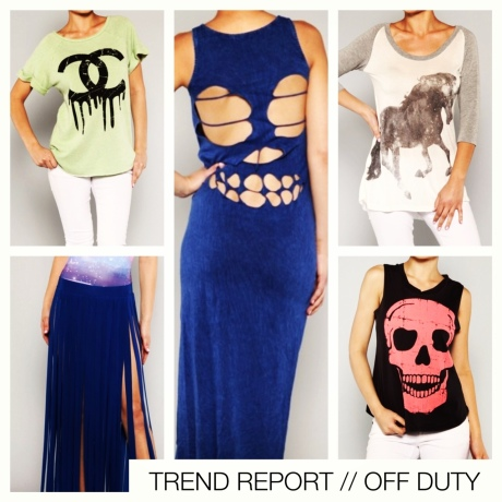TREND REPORT // OFF DUTY