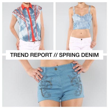 TREND REPORT // SPRING DENIM