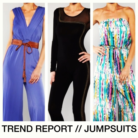 TREND REPORT // JUMPSUITS