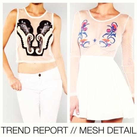 TREND REPORT // MESH DETAIL