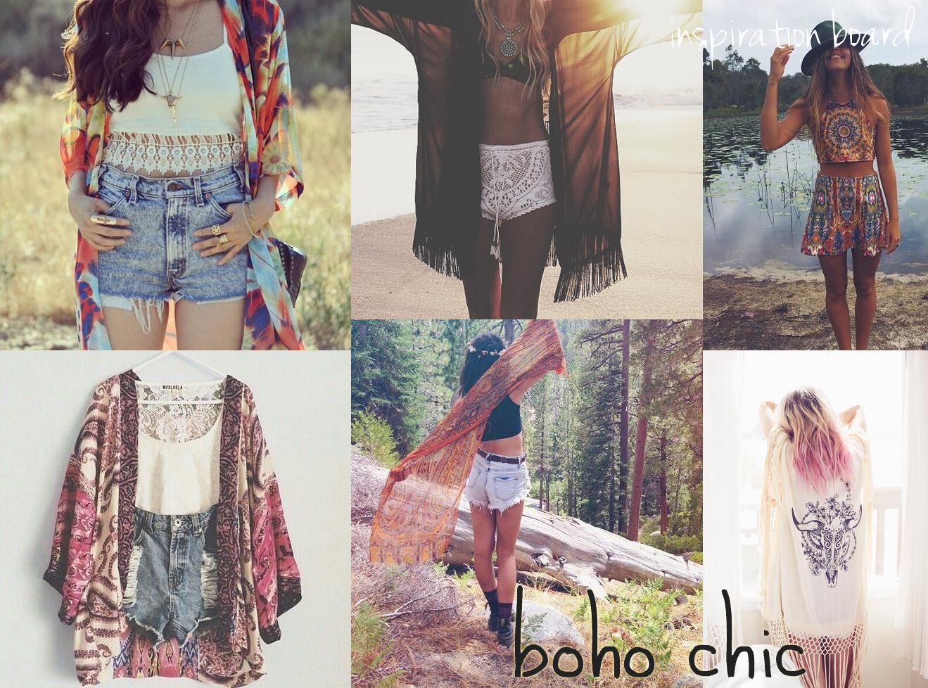 INSPIRATION BOARD: BOHO CHIC   Wholesale Fashion Yetts