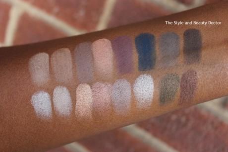lorac-pro-palette-2-swatches-on-dark-skin-1024x682
