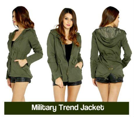 military trend jacke